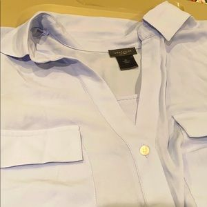 Light blue Ann Taylor blouse